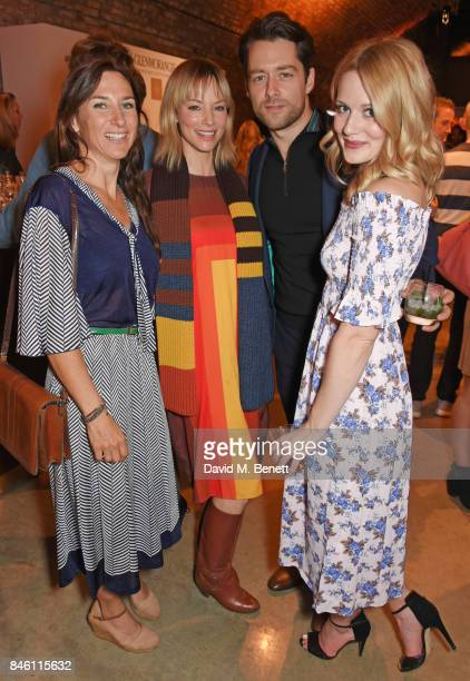 Susannah Wise Sienna Guillory Richard Rankin and Cara Theobold attend the launch of the 'Beyond The Cask' collaboration between Glenmorangie and...