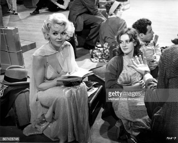 Susannah York and Bonnie Bedelia look on in a scene from the movie 'They Shoot Horses Don't They' circa 1969