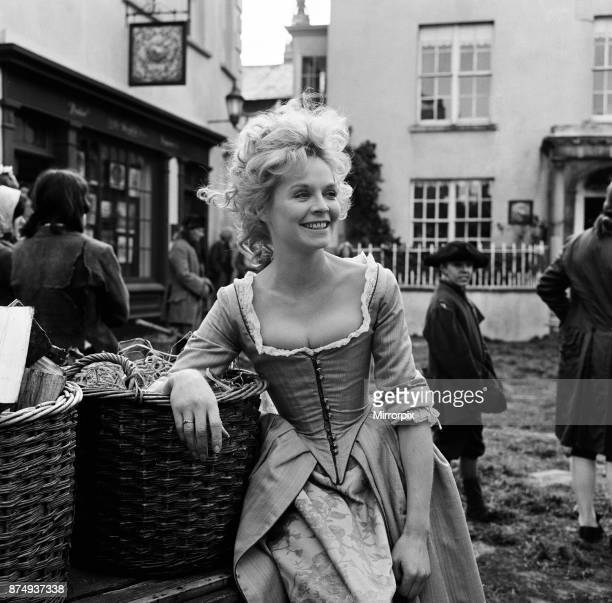 Susannah York on the set of 'Lock Up Your Daughters' in Kilkenny Ireland 24th April 1968