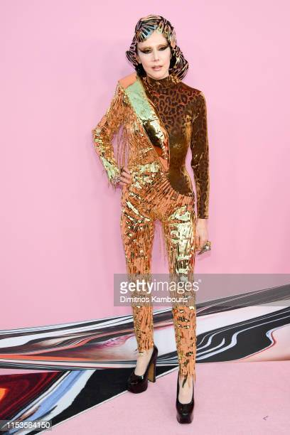 Susanne Bartsch attends the CFDA Fashion Awards at the Brooklyn Museum of Art on June 03 2019 in New York City