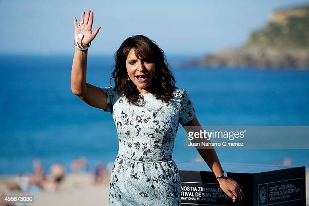 Susanne Bier attends 'En Chance Til/A Secon Chance' photocall during 62nd San Sebastian Intertantional Film Festival at the Kuraal Palace on...