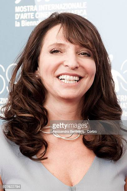 Susanne Bier attends the photocall of movie Love is all you need presented in competition at the 69th Venice Film Festival