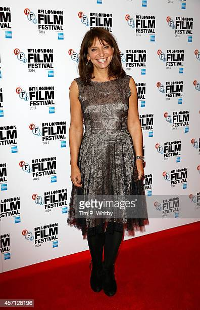 Susanne Bier attends the red carpet arrivals of 'A Second Chance' during the 58th BFI London Film Festival at Odeon West End on October 12 2014 in...