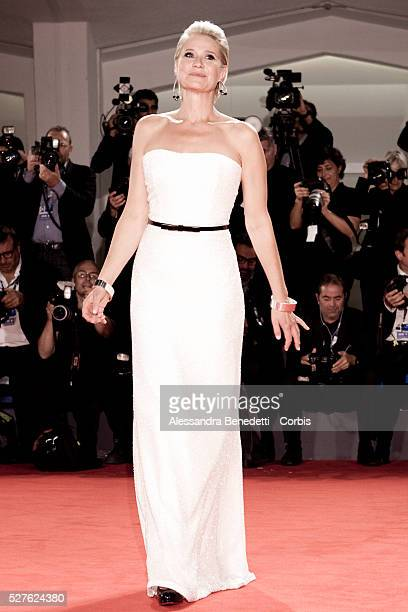 Susanne Bier Pierce Brosnan and Trine Dyrholm attend the premiere of movie Love is all you need presentde in competition at the 69th Venice Film...