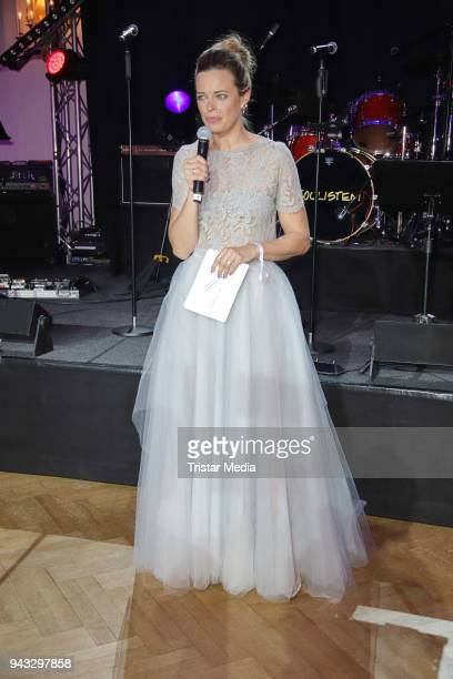 Susanne Boehm during the 21st Blauer Ball at Hotel Atlantic on April 7 2018 in Hamburg Germany