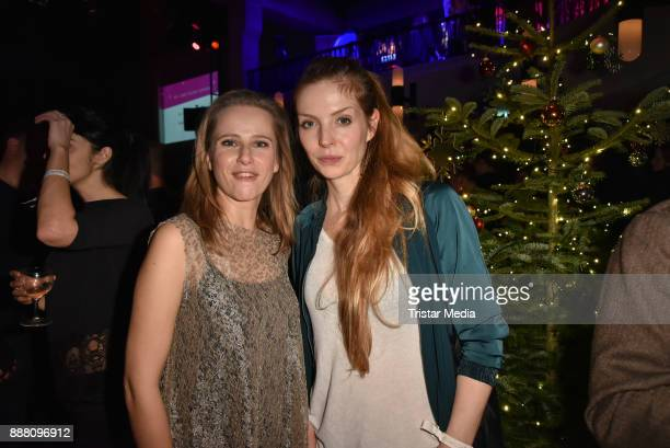 Susanne Bormann and Pheline Roggan during the Medienboard PreChristmas Party at Schwuz at Saeaelchen on December 7 2017 in Berlin Germany