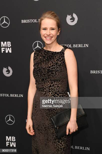 Susanne Bormann attends the Dawid Tomaszewski show during the MBFW Berlin January 2018 at ewerk on January 15 2018 in Berlin Germany