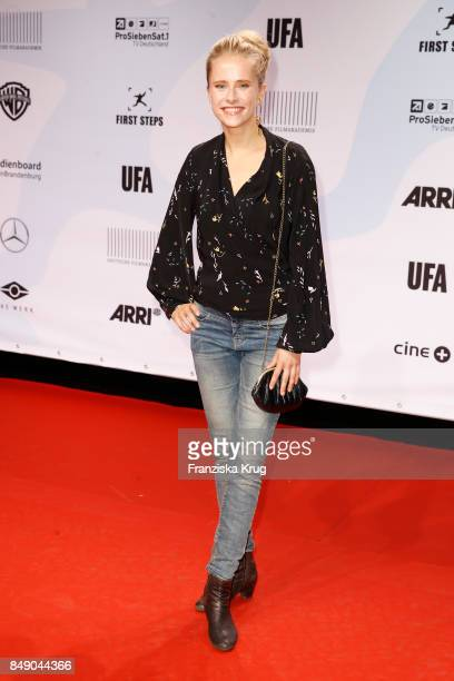 Susanne Bormann attends the First Steps Award 2017 at Stage Theater on September 18 2017 in Berlin Germany