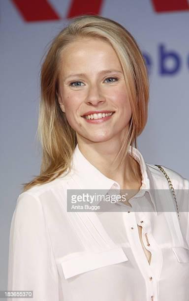 Susanne Bormann attends the 'Frau Ella' premiere at Cinestar Movie Thetare on October 8 2013 in Berlin Germany