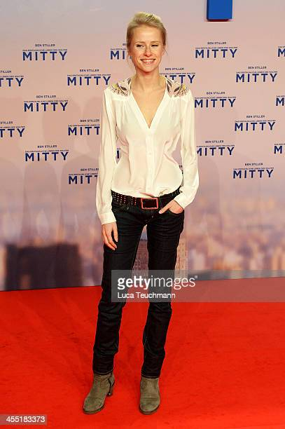 Susanne Bormann attends the German premiere of the film 'The Secret Life Of Walter Mitty' at Zoo Palast on December 11 2013 in Berlin Germany