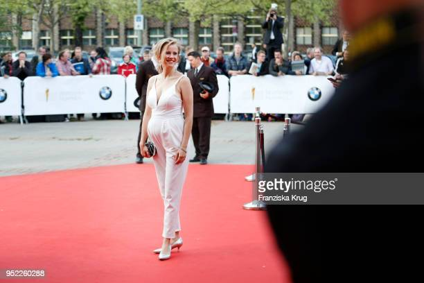 Susanne Bormann attends the Lola German Film Award red carpet at Messe Berlin on April 27 2018 in Berlin Germany