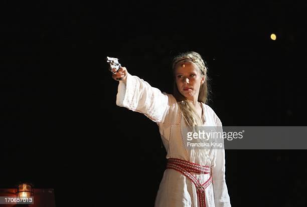 Susanne Bormann Bei Der Fotoprobe Zu Den NibelungenFestspielen In Worms