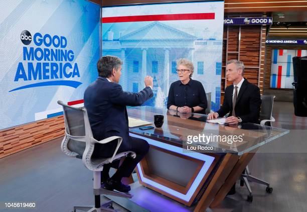 AMERICA Susanne Craig of The New York Times is a guest on Good Morning America airing Wednesday October 3 2018 on Walt Disney Television via Getty...