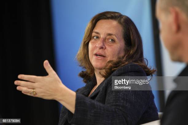 Susanne Daniels global head of content at Youtube Inc speaks during the Montgomery Summit in Santa Monica California US on Thursday March 9 2017 The...