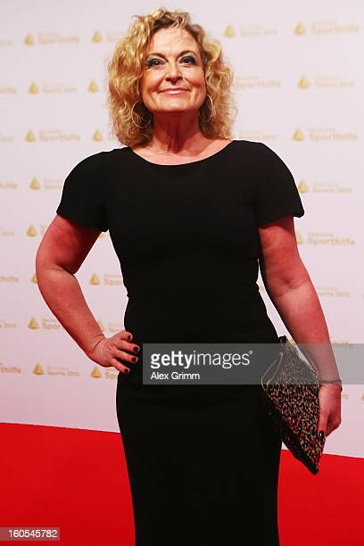 Susanne Froehlich arrives for the 'Ball des Sports 2013' at RheinMainHallen on February 2 2013 in Wiesbaden Germany