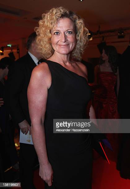 Susanne Froehlich arrvies at the 2012 Sports Gala 'Ball des Sports' at the RheinMain Hall on February 4 2012 in Wiesbaden Germany