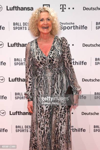 Susanne Froehlich attends the German Sports Gala 'Ball des Sports 2017' on February 4 2017 in Wiesbaden Germany