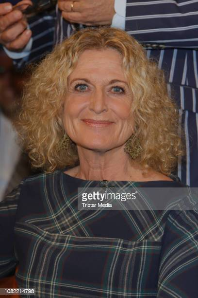 Susanne Froehlich during the NDR Ttalk show on January 18 2019 in Hamburg Germany