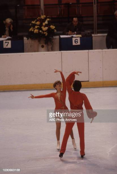 Susanne Handschmann Peter Handschmann competing in the Ice dancing event at the 1980 Winter Olympics / XIII Olympic Winter Games Olympic Center
