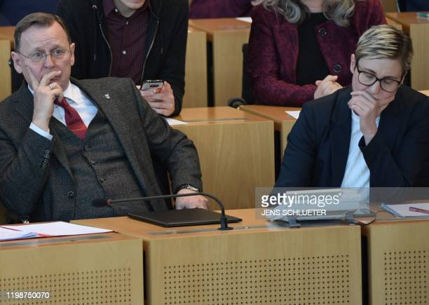 Susanne HennigWellsow Chairwoman of the parliamentary group Die Linke in the State Parliament of Thuringia and former Thuringia's State Premier and...