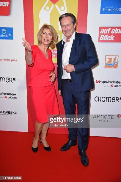 Susanne Holst and Helmut Zierl attend the 'Helden des Alltags' Gala at Theater Kehrwieder on October 1 2019 in Hamburg Germany