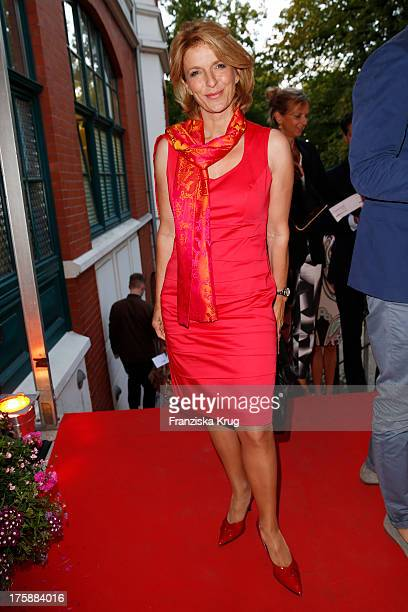 Susanne Holst attend the 'Nacht der Medien 2013' on August 09 2013 in Hamburg Germany
