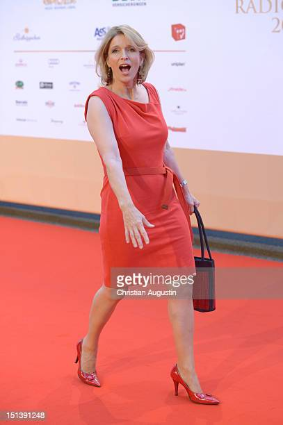 Susanne Holst attends Deutscher Radiopreis 2012 at Schuppen 52 on September 6 2012 in Hamburg Germany