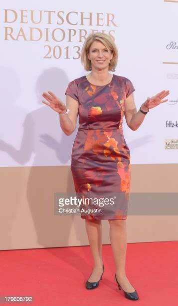 Susanne Holst attends 'Deutscher Radiopreis' at Schuppen 52 on September 5 2013 in Hamburg Germany