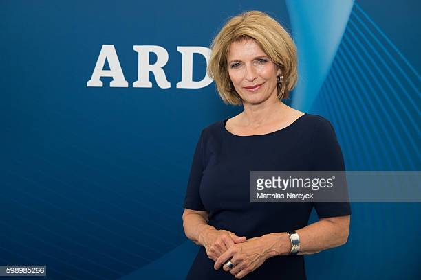 Susanne Holst visits the ARD Stand At 2016 IFA Tech Fair on September 2 2016 in Berlin Germany