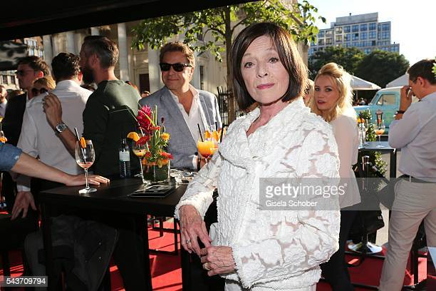Susanne Juhnke widow of Harald Juhnke during the MasterCard Priceless Fashion Kitchen Party at Shan Rahimkhan's Bistro during the MercedesBenz...