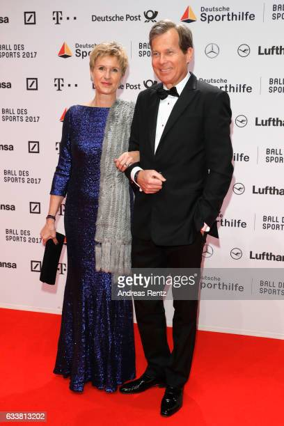 Susanne Klatten and Jan Klatten attend the German Sports Gala 'Ball des Sports 2017' on February 4 2017 in Wiesbaden Germany