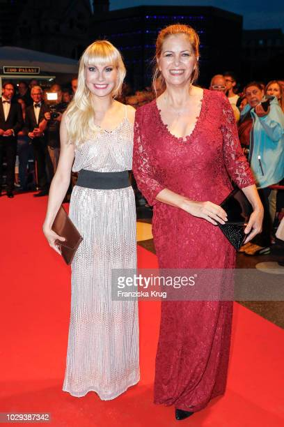 Susanne Klehn and Maxi Biewer during the 100th birthday celebration gala for Artur Brauner at Zoo Palast on September 8 2018 in Berlin Germany Artur...