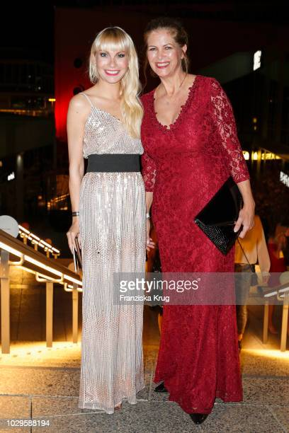 Susanne Klehn and Maxi Biewer during the 100th birthday celebration gala for Artur Brauner at Zoo Palast on September 8, 2018 in Berlin, Germany....