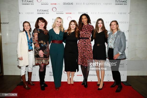Susanne Kreusch, Ruth Neri, Anne Meyer-Minnemann, Sedef Ayguen, Annabelle Mandeng, Lorena Sophia Griessinger and Daniela Timmermanns during the...