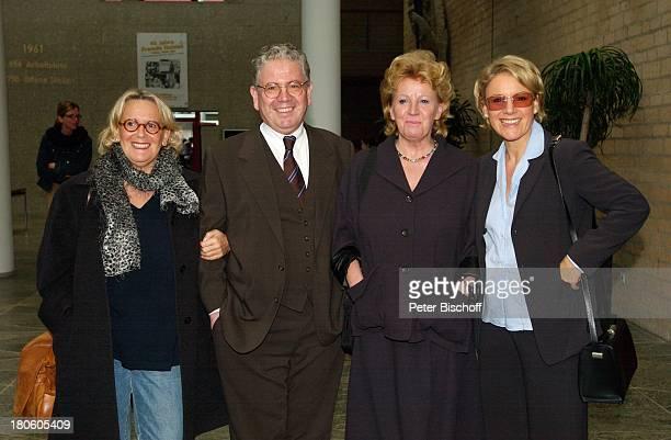 Susanne Millowitsch, Bruder Peter Millowitsch, Schwester Dr. Katarina Eisenlohr, Schwester Mariele Millowitsch, Kölner Rathaus, Standesamt, Köln,...