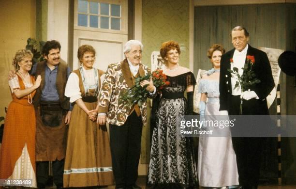 Susanne Millowitsch, Sohn Peter Millowitsch, Schwiegertochter Barbie Millowitsch, Vater Willy Millowitsch, Tochter Mariele Millowitsch, Tochter...