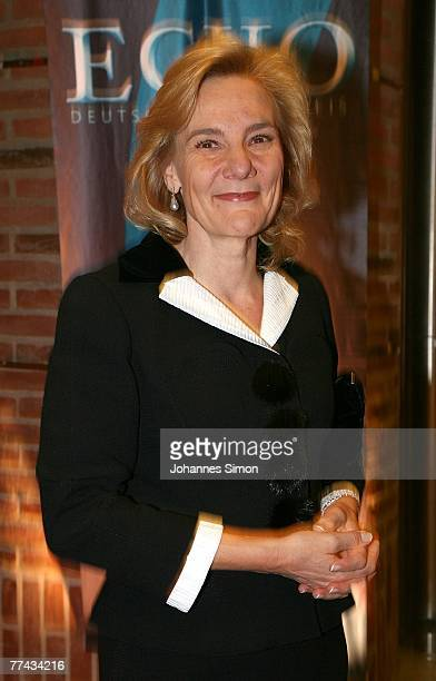 Susanne Porsche arrives for the Echo Klassik Award at Gasteig Kulturzentrum on October 21, 2007 in Munich, Germany.