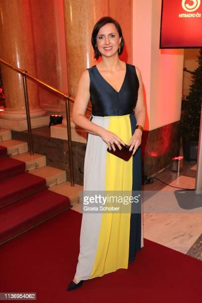 Susanne Schnabl gduring the ROMY award at Hofburg Vienna on April 13 2019 in Vienna Austria