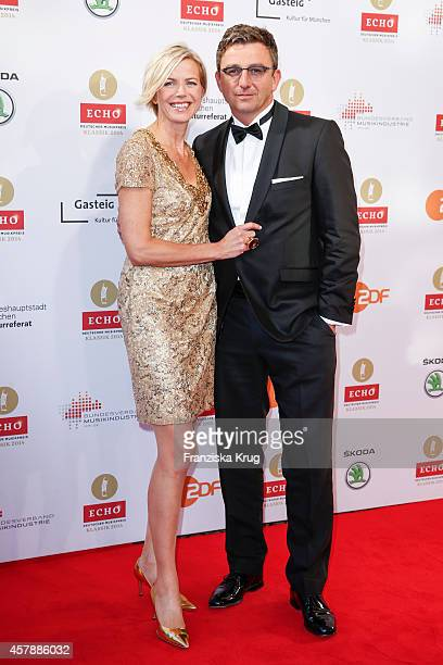 Susanne Sigl and Hans Sigl attend the ECHO Klassik 2014 on October 26, 2014 in Munich, Germany.