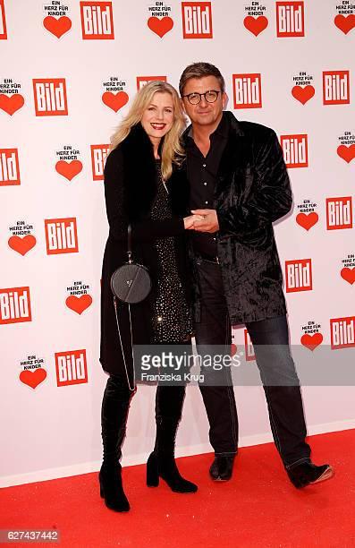 Susanne Sigl and Hans Sigl attend the Ein Herz Fuer Kinder on December 3 2016 in Berlin Germany