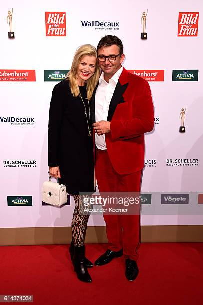 Susanne Sigl and Hans Sigl attends the red carpet at the 'Goldene Bild der Frau' award at Stage Theater on October 13, 2016 in Hamburg, Germany.