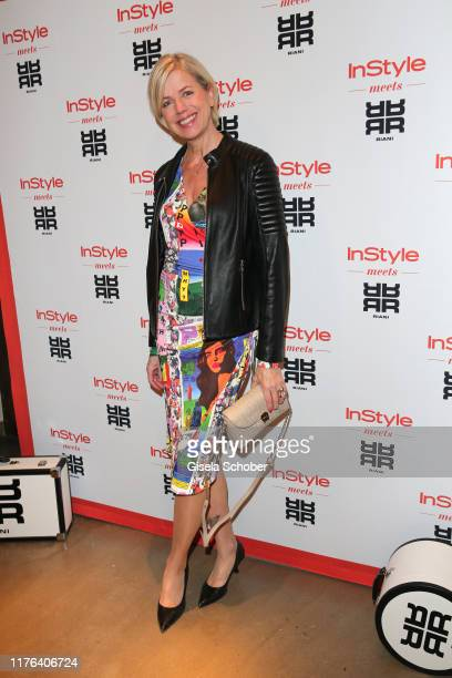 Susanne Sigl during the InStyle meets RIANI Dinner at Garden Restaurant / Hotel Bayerischer Hof on October 17, 2019 in Munich, Germany.