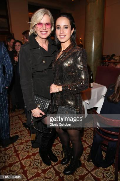 Susanne Sigl Stephanie Stumph during the after show party for the Ein Herz Fuer Kinder Gala at Borchardt Restaurant on December 7 2019 in Berlin...