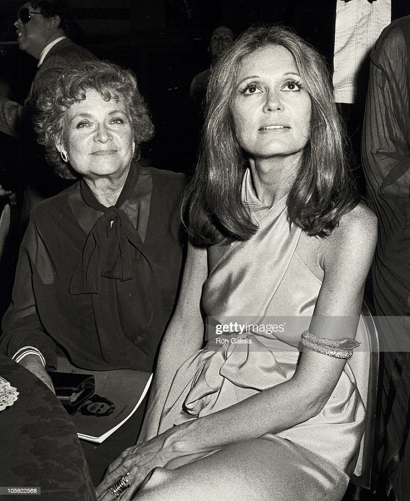 Gloria Steinem's 50th Birthday Party - May 23, 1984 : News Photo