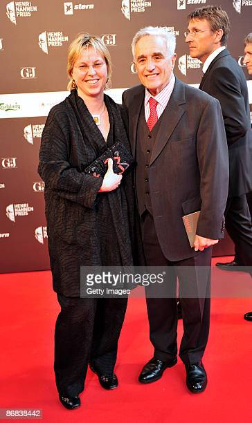 Susanne Sturm and Michael Degen attend the Henri-Nannen-Award at the Schauspielhaus on May 8, 2009 in Hamburg, Germany.
