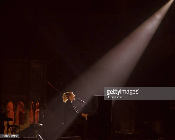 Susanne Sundfor performs at the Union Chapel on October 2 2017 in London England