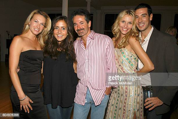 Susanne W Courtney Scott Michael Fuchs April Kimm and Matt Tartaglia attend Dinner Party Hosted by Ronnie Madra and John McDonald at The Home of...
