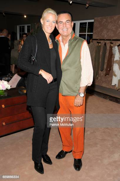Susanne Wadsack and Michael Blank attend JOSEPH ALTUZARRA Private Cocktail Party at THE WEBSTER at The Webster on December 5, 2009 in Miami Beach,...