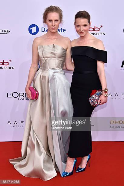 Susanne Wuest and Karoline Herfurth attend the Lola German Film Award on May 27 2016 in Berlin Germany