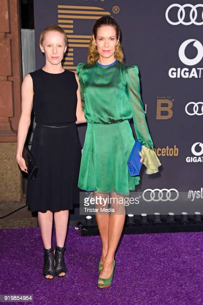 Susanne Wuest and Lisa Martinek attend the PLACE TO B Party on February 17 2018 in Berlin Germany